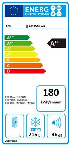 Gefriertruhe Test - AEG ARCTIS A62300HLW0 Gefriertruhe / A++ / 162 kWh/Jahr / 216 Liter / LowFrost-Technologie / weiß - 2