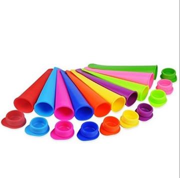 Gefriertruhe Test - Bekith 10 Stück Silikon-Eis-Pop Maker Set,Ice Pop Formen,und sie reinigen super einfach. - 1