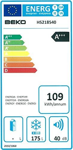 Gefriertruhe Test - Beko HS 218540 Gefriertruhe / A+++ / 109 kWh/Jahr / 183 L Gefrierteil / weiß - 2