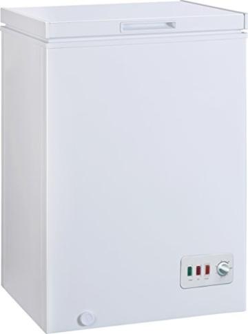Gefriertruhe Test - Bomann GT 357 Gefriertruhe / A++ / 85 cm Höhe / 131 kWh/Jahr / 100 L Gefrierteil / regelbarer Thermostat - 2